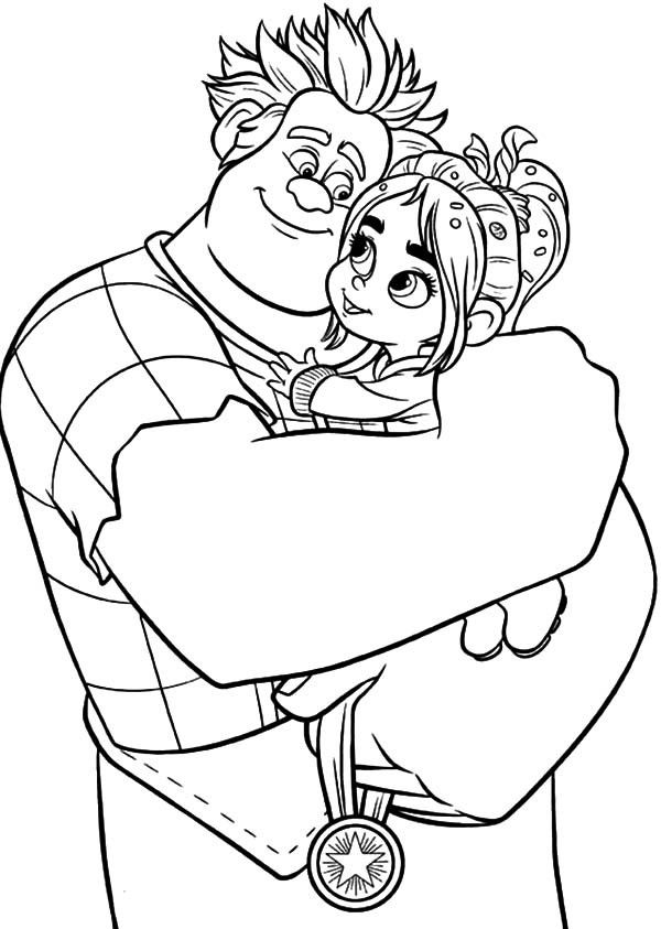 Wreck It Ralph Coloring Pages Best Coloring Pages For Kids Cool Coloring Pages Cartoon Coloring Pages Coloring Books