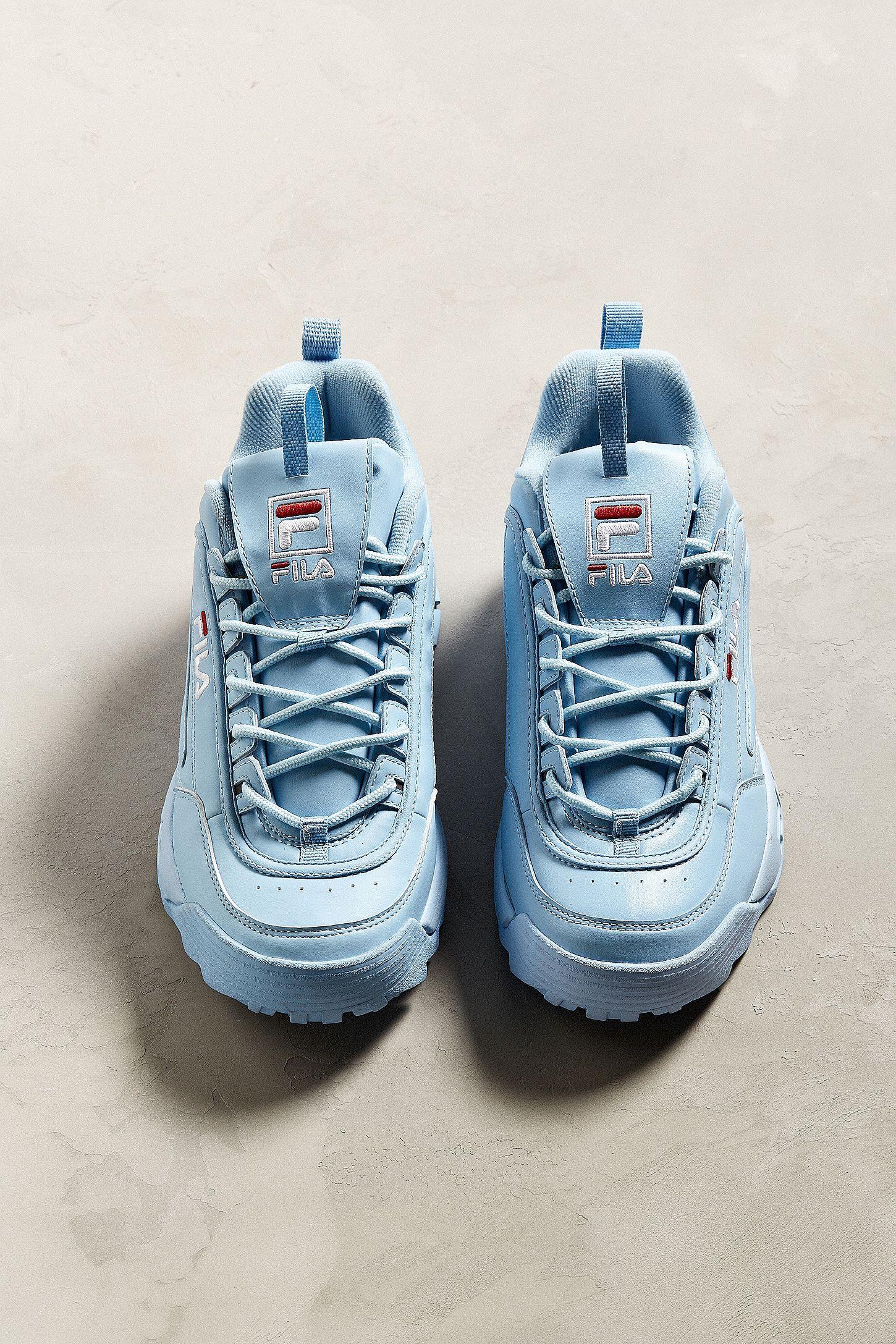 FILA DISTRUPTOR 💙voidchella   鞋   Shoes, Fly shoes, Footwear