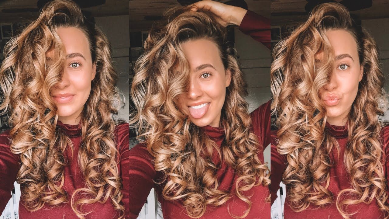 How to get Big long lasting Curls (With images) | Big curls for ...