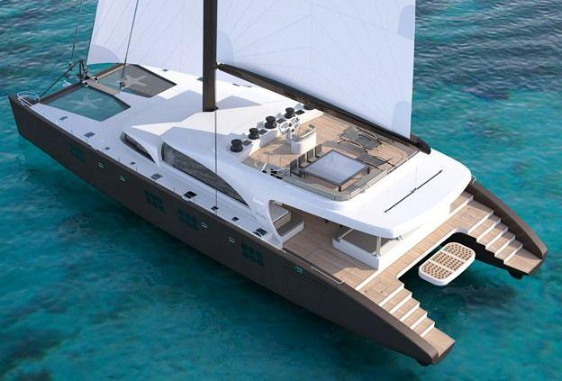 Katamaran segeln luxus  Sailing Yacht IPHARRA - Sunreef Luxury Catamaran | sailing ...