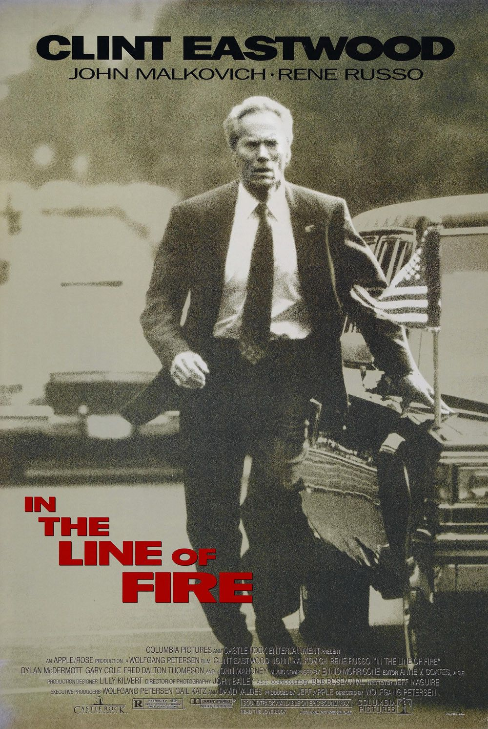 In the Line of Fire (1993).
