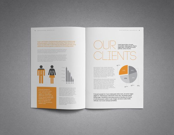 Annual Report  Bank By Kiran Qureshi Via Behance  Reports