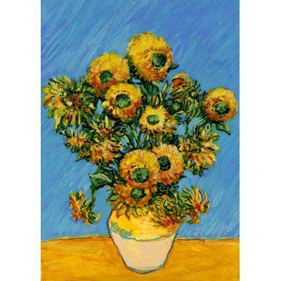 Toland Home Garden Van Goghu0027s Sunflowers Garden Flag