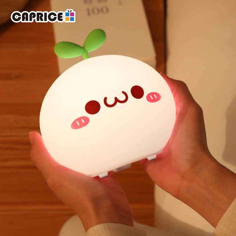 Silicon Led Night Light Lamp Beyond Gadgets Cute Night Lights Kawaii Room Kawaii Bedroom