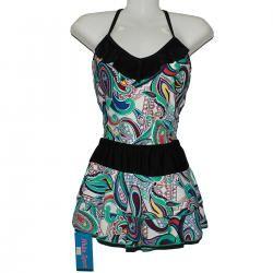 Áo thể thao, áo tắm váy, đồ bơi áo hai dây váy 5531