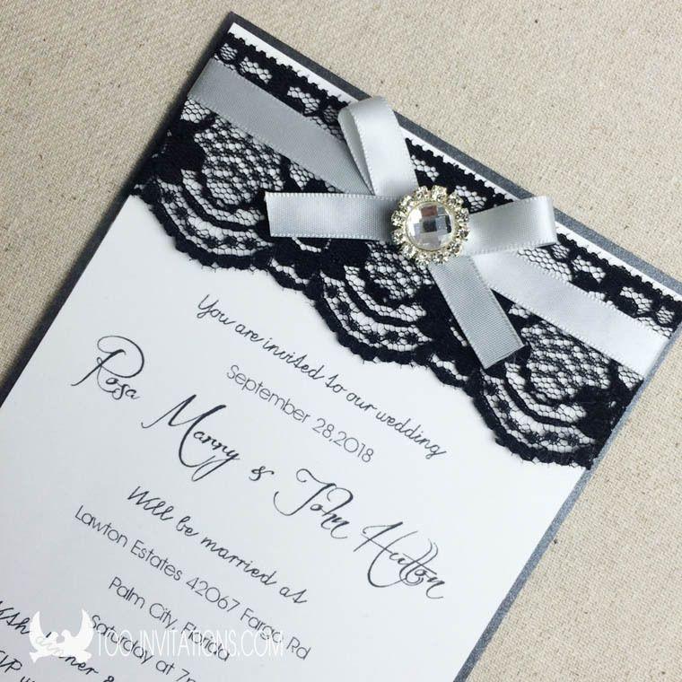 tarjetas boda en blanco y negro buscar con google