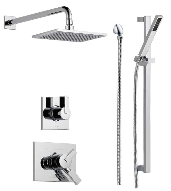 Delta Dss Vero 1701 With Images Shower Systems Shower Panels