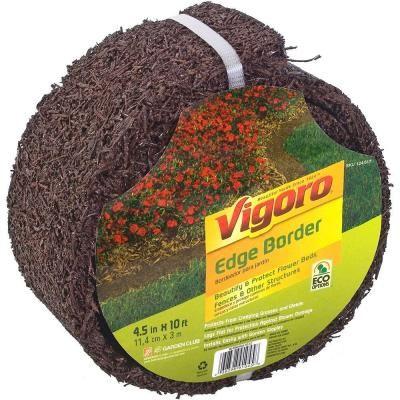 Easy Gardener 10 Ft Brown Lawn Edging Border Eb61045Ea 400 x 300
