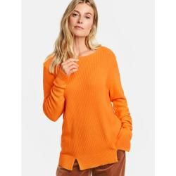 Photo of Pullover mit Strukturstrick Rot Gerry Weber