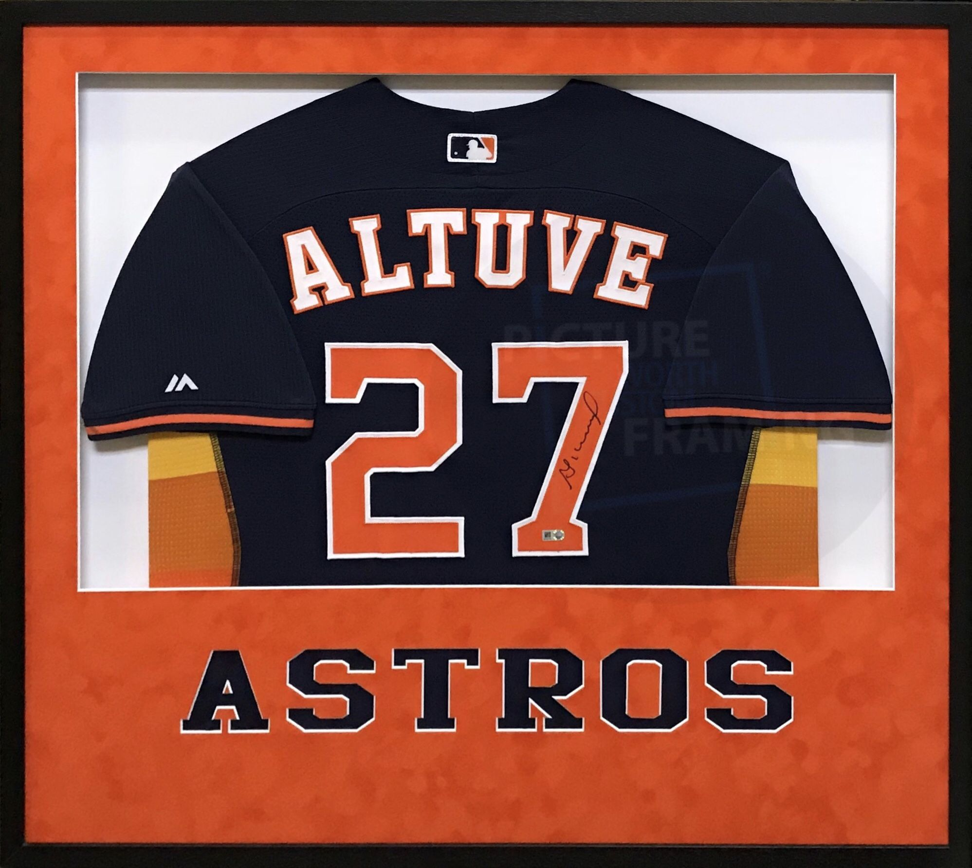 buy popular 40024 0df07 Signed authentic #Jose #Altuve, #Houston #Astros #jersey ...