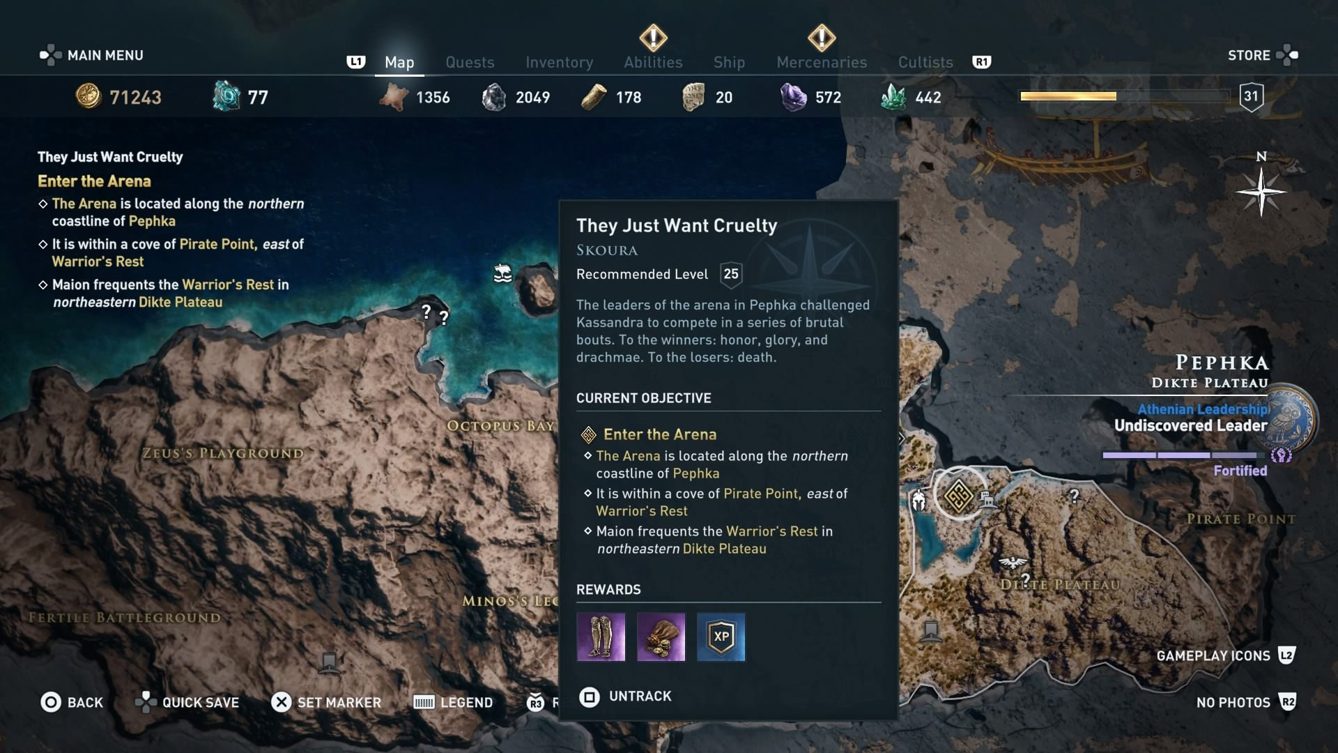 Assassins Creed Odyssey Arena guide how to become hero of the arena