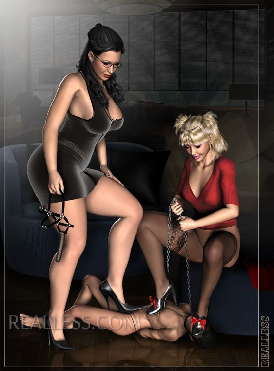 The fantastic world of female domination and merciless facesitting.  Ruthless domination of big women over