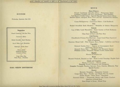 Rms nieuw amsterdam independence day july 4 1954 dinner menu rms nieuw amsterdam independence day july 4 1954 dinner menu holland america holland the nieuw amsterdam and holland amerika lijn pinterest holland publicscrutiny Image collections