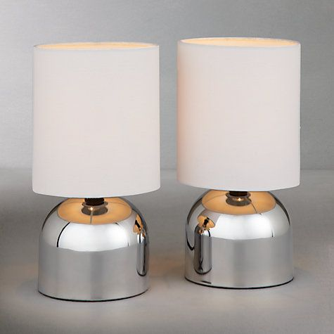 House By John Lewis Lucy Touch Lamp Duo Set Of 2 Touch Lamp Lamp Table Lamp