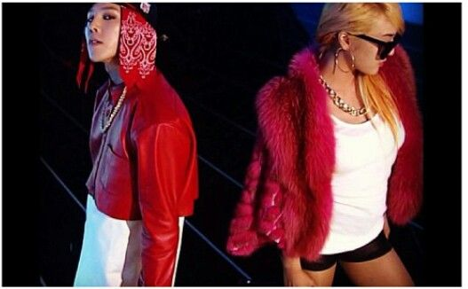 GDragon & Lydia Paek performing R.O.D on Inkigayo - love Lydia's voice but she was too stiff & looked too much like CL. Preferred the Skydragon performance instead.