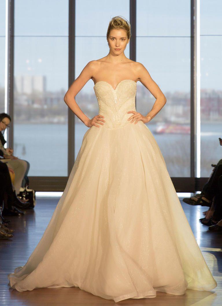 Francesca Miranda Spring 2017 | https://www.theknot.com/content/francesca-miranda-wedding-dresses-bridal-fashion-week-spring-2017