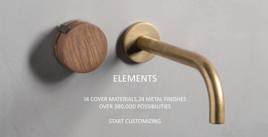 Elements Collection By Watermark Watermark Design Wall Mount Faucet Plumbing Fixtures