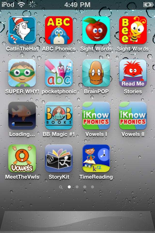 Reading apps for Ipad hopefully for the ipod touch as well