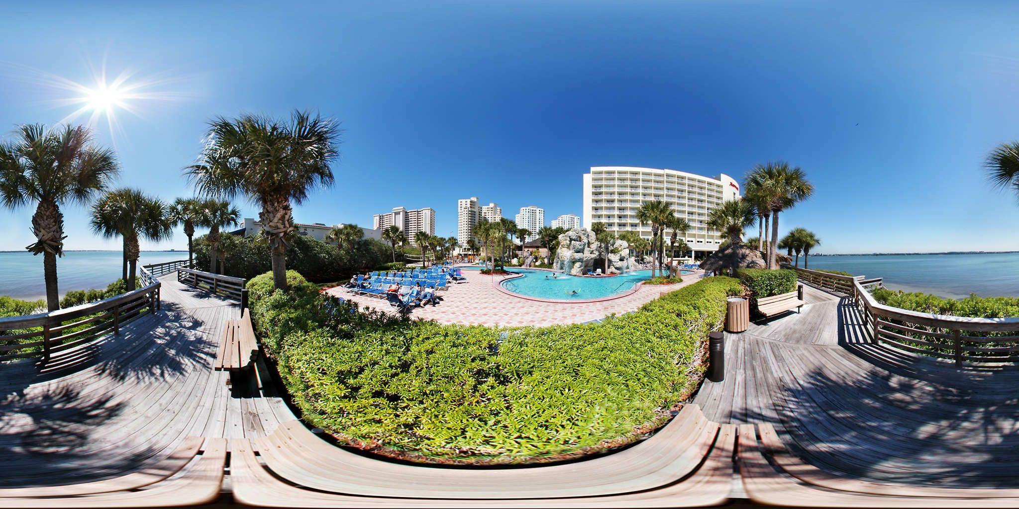 Clearwater Beach Marriott Suites On Sand Key Outdoor Pool