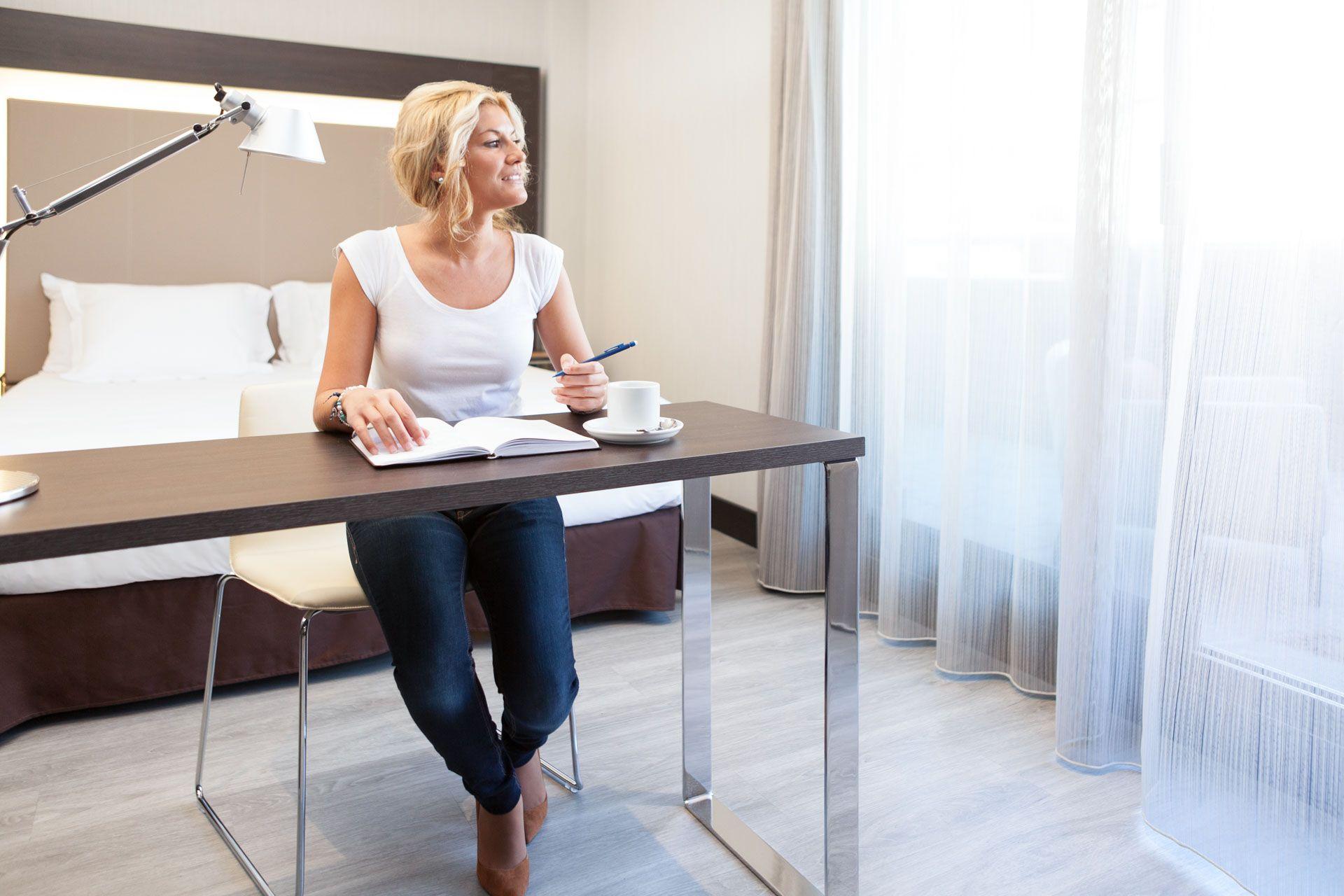 Descubre la comodidad, luminisidad y tranquilidad de las habitaciones de Novotel Madrid Center