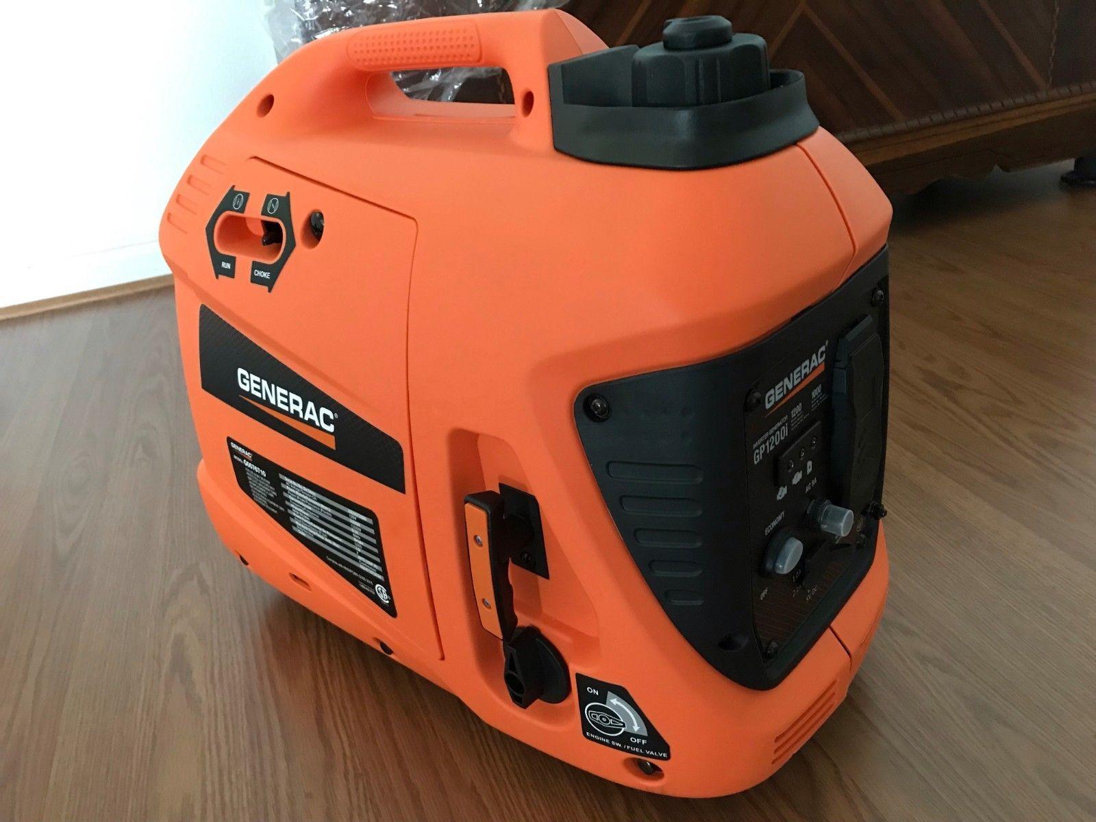 Generators 33082 Generac 1200w Inverter Generator Model G0076710 Brand New Never Used Buy It Now Only 210 On Ebay Generators Generation Model Brand