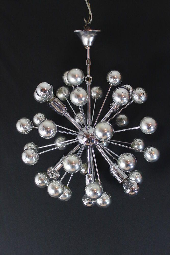 original sputnik lampe h ngelampe 70er jahre. Black Bedroom Furniture Sets. Home Design Ideas