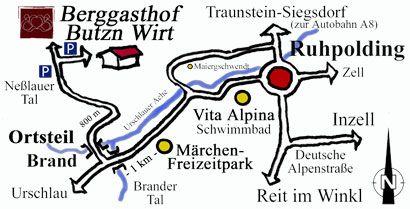 Chiemgauer Berggasthof Butznwirt Ruhpolding Chiemsee Urlaub Chiemgau Traunstein