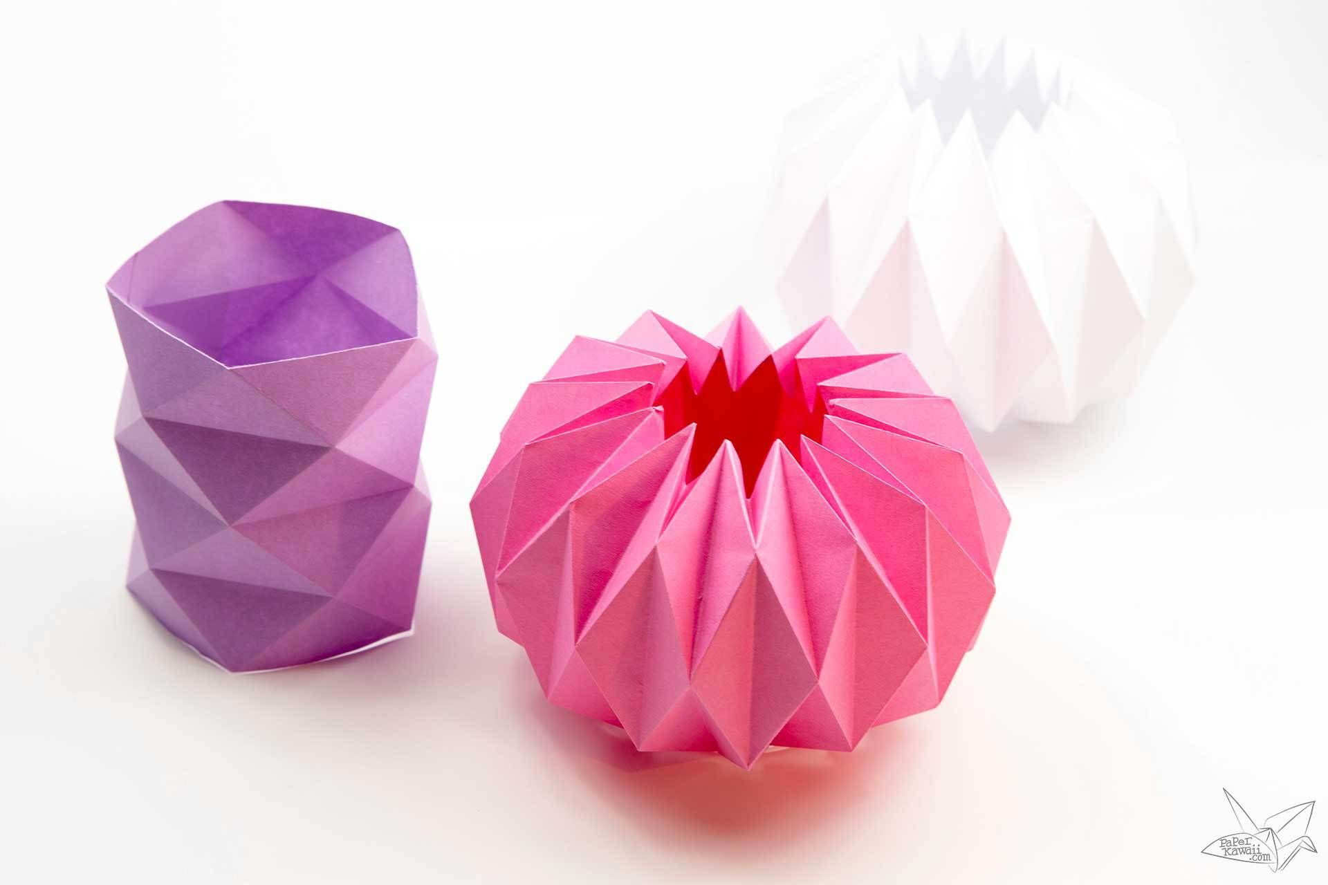 Origami tetrahedron 3 sided pyramid tutorial origami origami tetrahedron 3 sided pyramid tutorial sciox Gallery