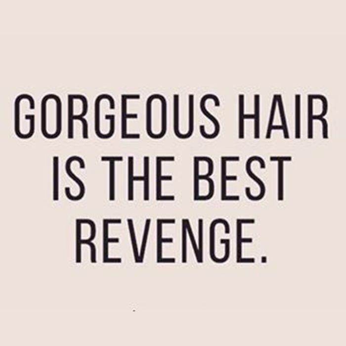 My Revenge Sl Hair Quotes Hair Monat Hair Hair Care