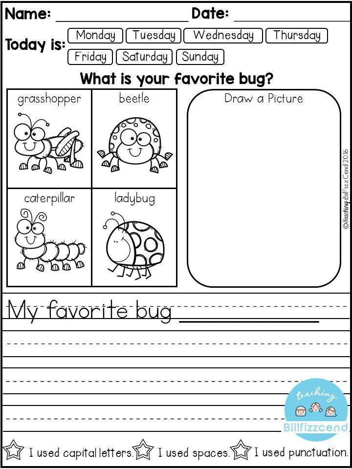 Free Daily Writing Prompts Dengan Gambar Pendidikan