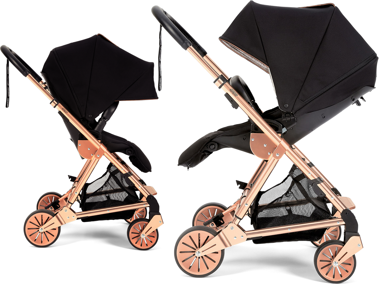 Stroller Inglesins Classic - a combination of exquisite retro design with modern quality of performance