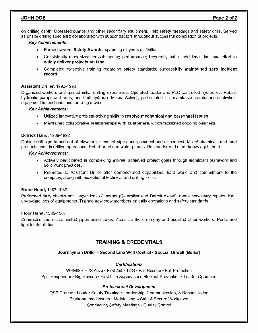 42++ Executive resume samples oil and gas industry Format