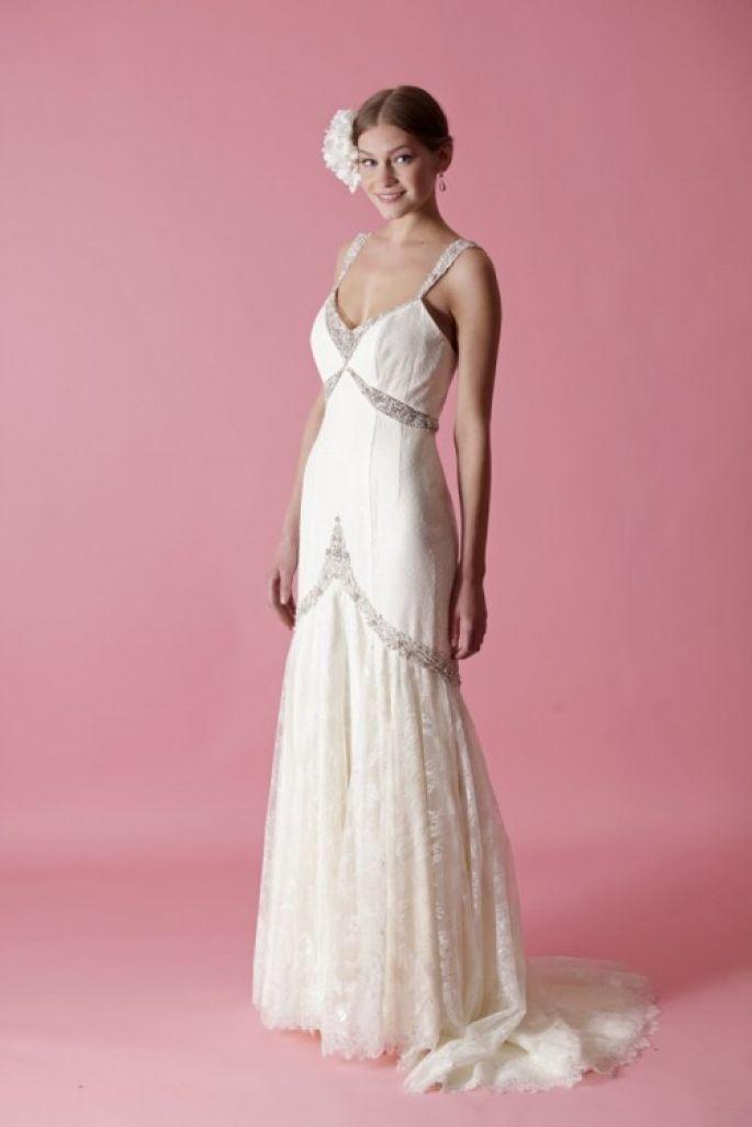 Asombroso Badgley Mischka Vestido De Novia Ideas Ornamento ...