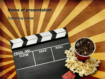 Httppptstarpowerpointtemplatefilms And Cinema Films