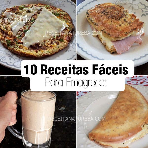 10 Receitas De Cafe Da Manha Para Emagrecer Receitas De Cafe