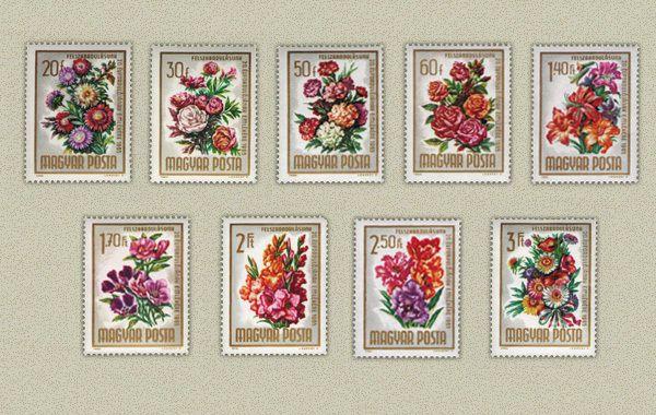 Hungary 1965. Flowers set MNH(**) Mi.:4.8 EUR (own)