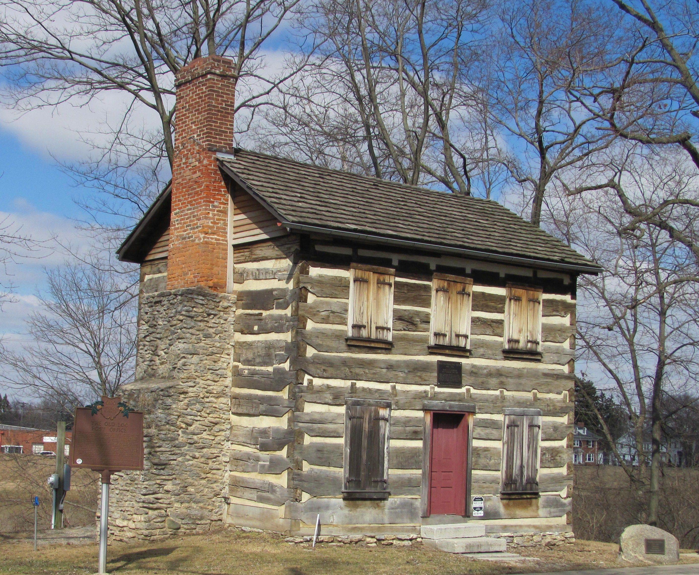 Franklin Harding Museum Log Cabin In Franklin Ohio