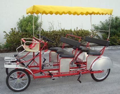 4ae555a5126 Quadricycle Manufacturer, the definitive listing. Caribbean Riders - Surrey  Bike 4 seater Pedal ...