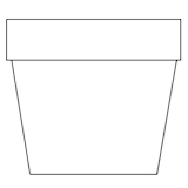 It's just a picture of Simplicity Flower Pot Printable