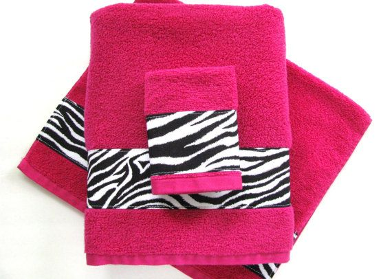 Hot Pink Towels Hand Towels Towel Sets Bath Towels By AugustAve