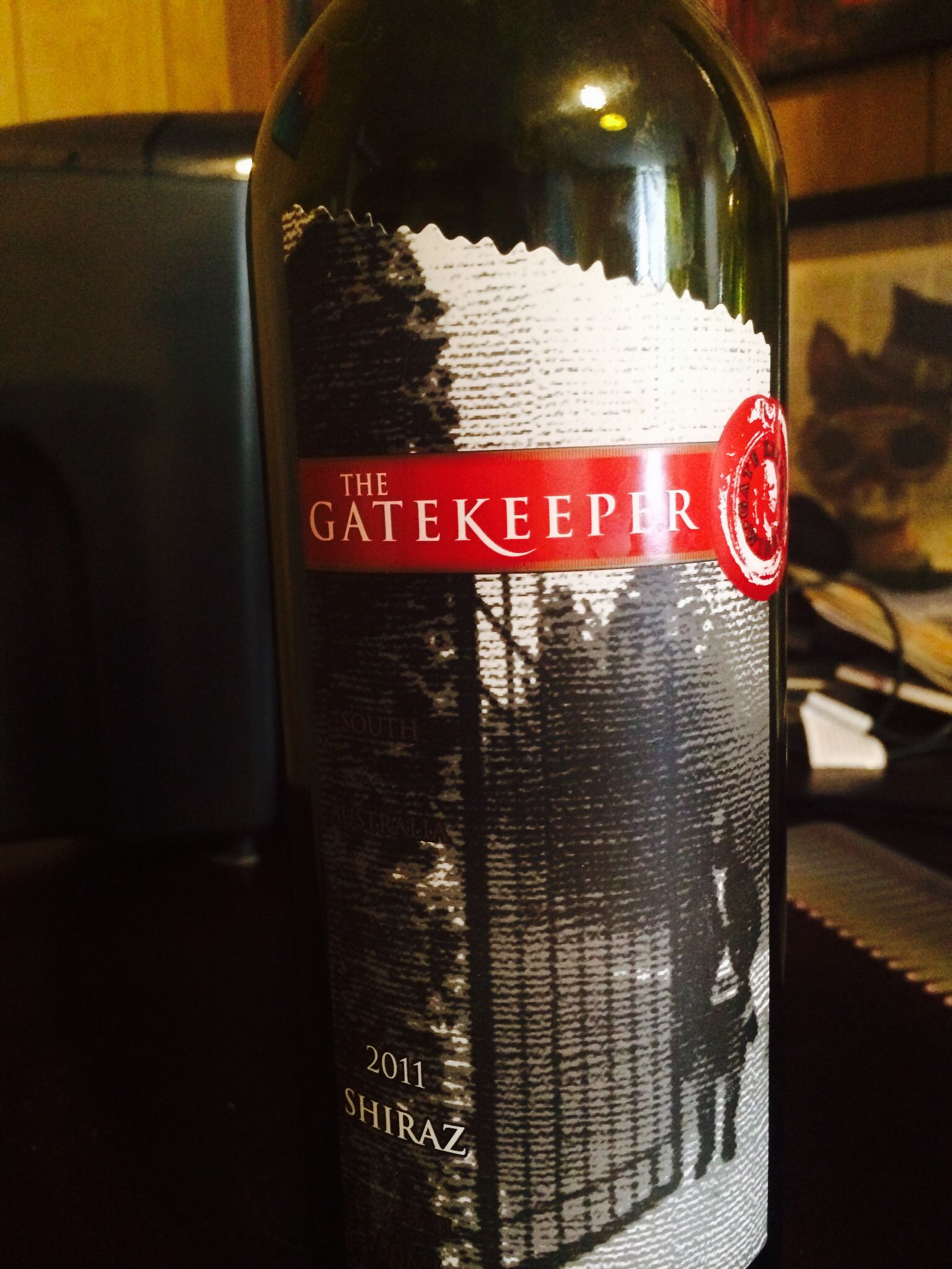 Gatekeeper Wine Label Wine Bottle Wine Label Wine
