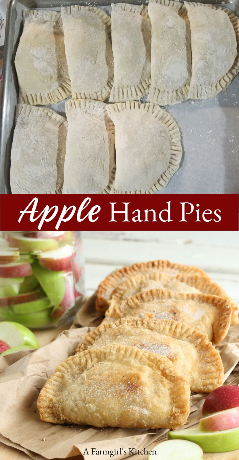 Apple Hand Pies #desserts