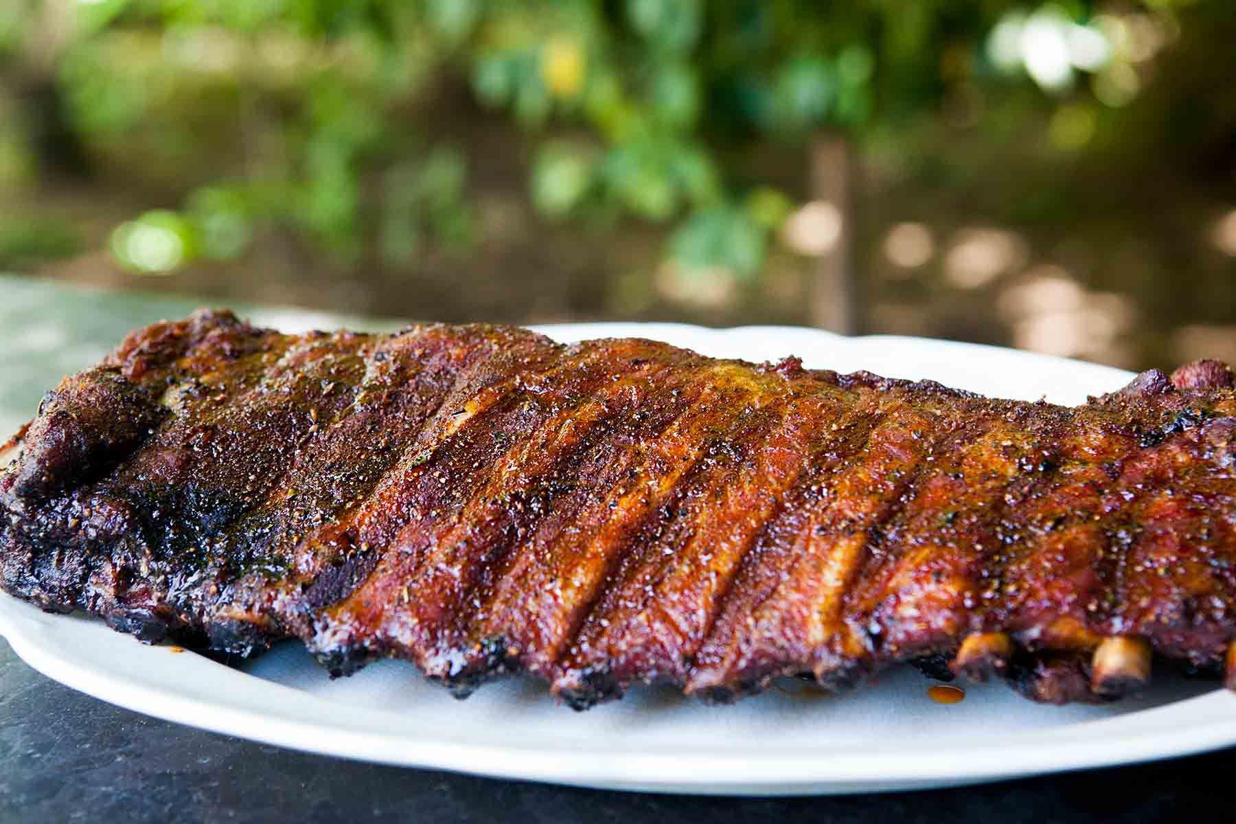 Memphis Style Pork Ribs Recipe     Recipe