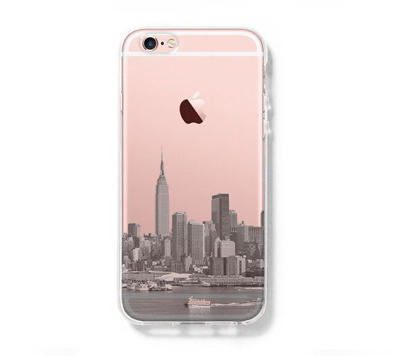 d2babdd1fc NYC New York City iPhone 6s Clear Case iPhone 6 Cover iPhone 5s 5 5c T –  Acyc