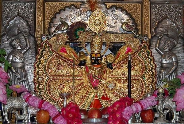 Pujas At Sanwaliaji Seth Temple In 2019 Jai Shree Krishna Vishnu