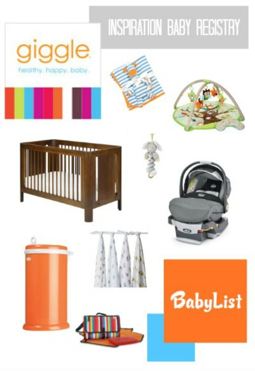 giggle's Best Baby Registry | Best baby registry, Baby ...