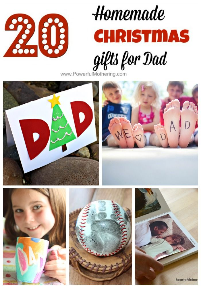 Homemade Christmas Gifts For Dad So Thoughtful