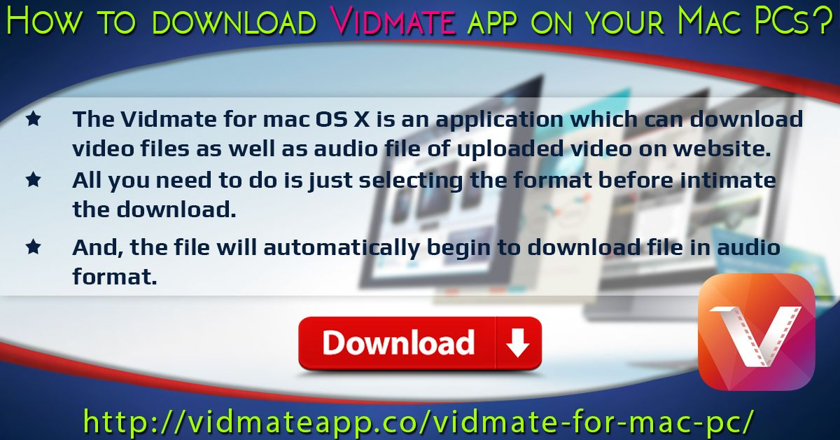 Pin by Vidmate App on Download Vidmate For Mac Download