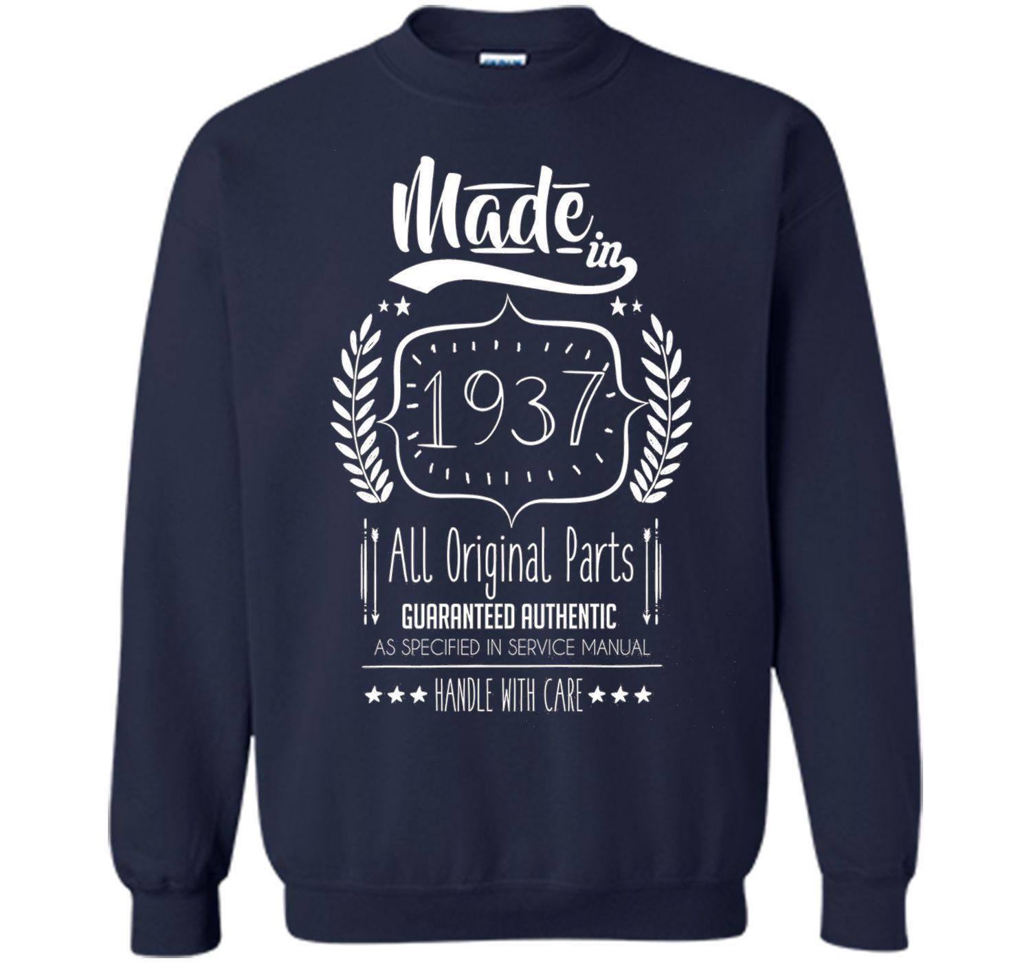 Made In 1937 79th Birthday 79 Years Old Gift Idea Tee Shirt