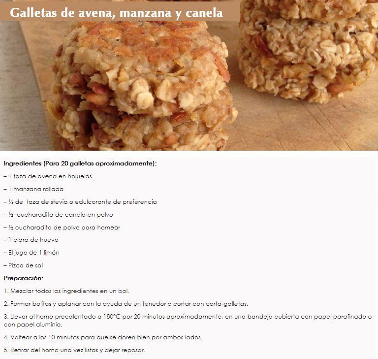 Galletas para desayunar dieta